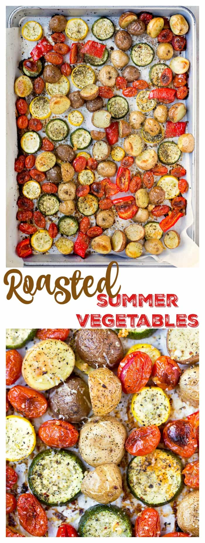 Roasted Summer Vegetables
