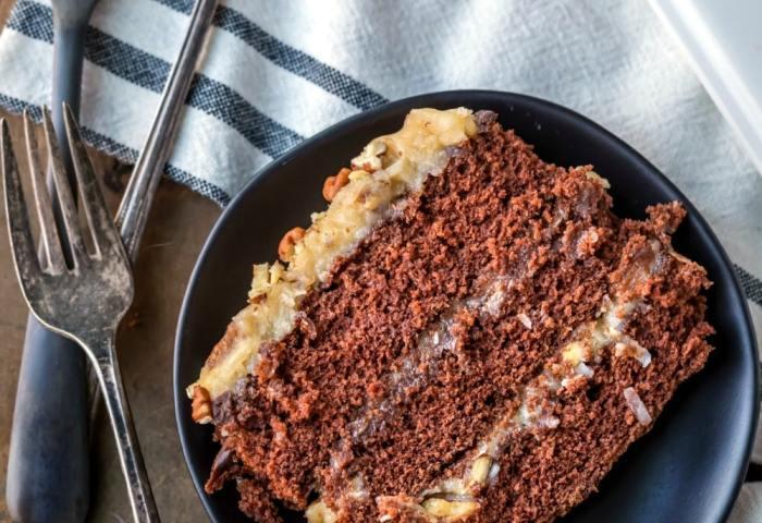 Homemade German Chocolate Cake I Heart Eating