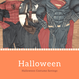 Halloween Costume  Savings