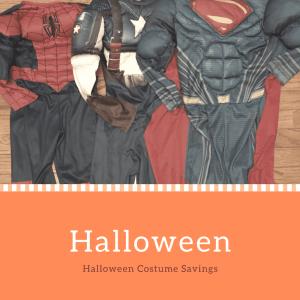 Halloween Costume  Savings