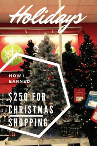 Make $250 for Christmas Shopping