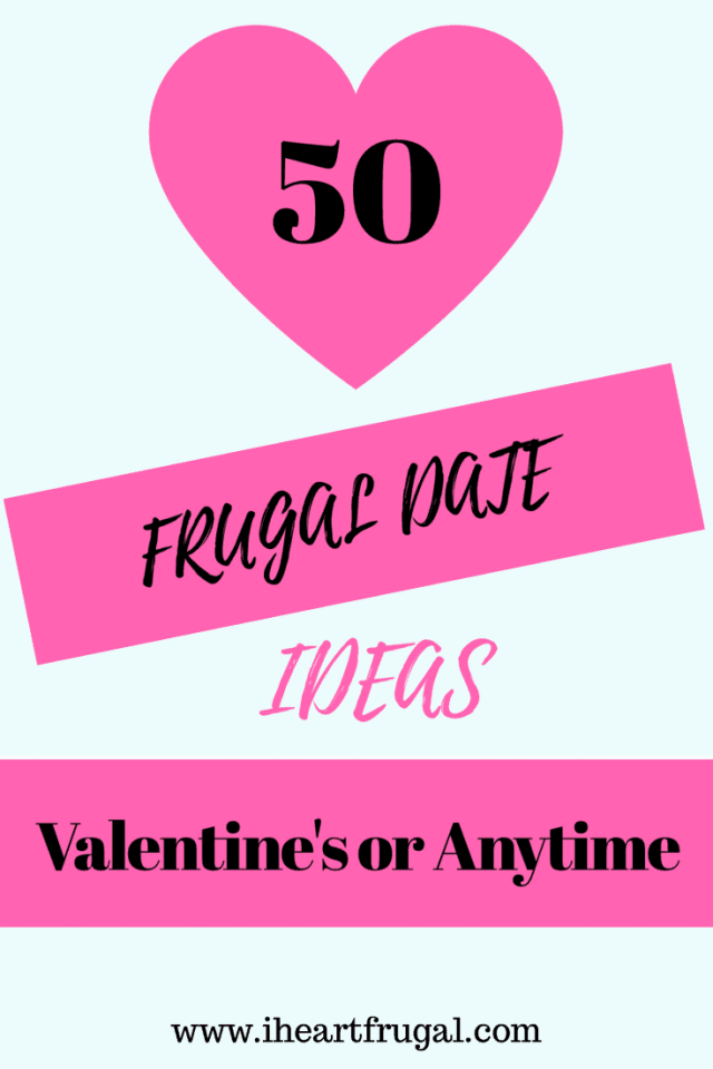50 Frugal Date Ideas