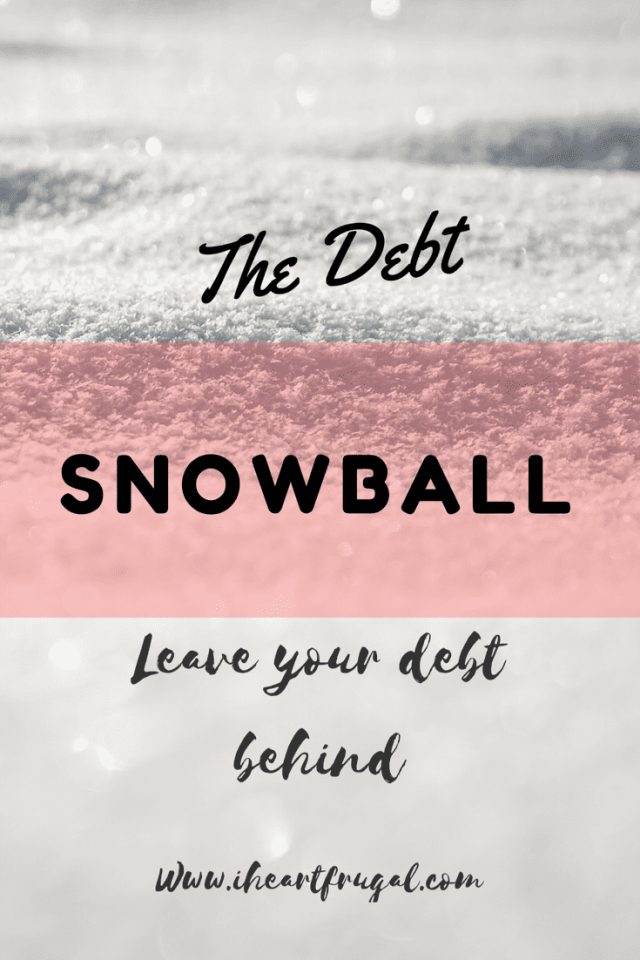 Baby Steps & the Debt Snowball