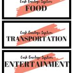 Cash Envelope System #budget