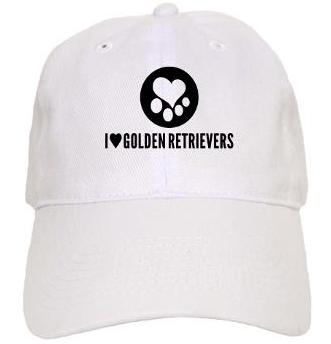 Golden Retriever Mens Womens Hat