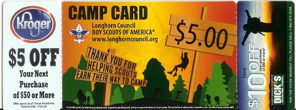 Boy scout of america coupon code