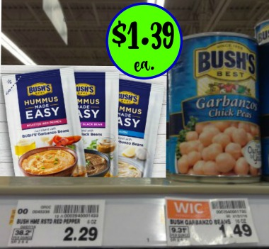 Bushs Hummus Made Easy Kroger