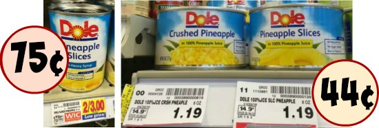 Dole Fruit - As Low As 44¢ At Kroger