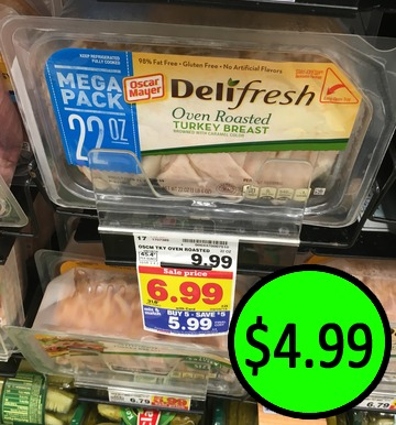 New Oscar Mayer Deli Fresh Coupon Lunchmeat Half Price At Kroger