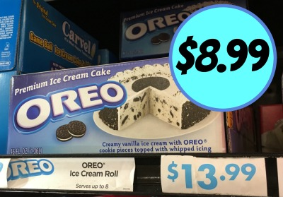 Great Price On Carvel Cakes At Kroger