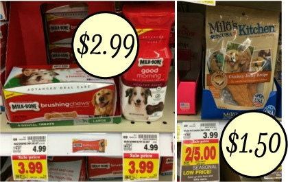 New Pet Food & Treat Coupons - Milo\'s Kitchen Dog Treats Just ...