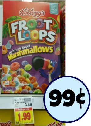 Product Features ounce box of ready-to-eat Froot Loops Cereal with Fruity Shaped.