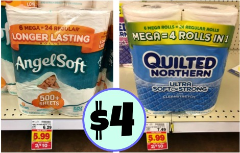 Angel Soft or Quilted Northern Toilet Paper Just $4 At Kroger : coupons for quilted northern toilet paper - Adamdwight.com