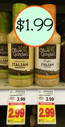 Olive Garden Dressing U2013 Just $1.99 At Kroger