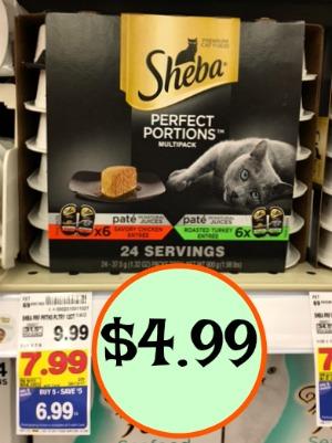 Sheba Cat Food Coupon Deal
