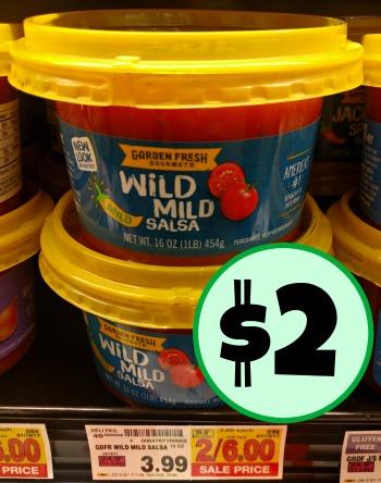 garden fresh gourmet salsa half price at kroger - Garden Fresh Gourmet