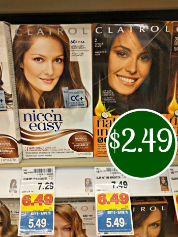 New Clairol Hair Color Coupon - Just $2.49 In The Kroger Mega Sale