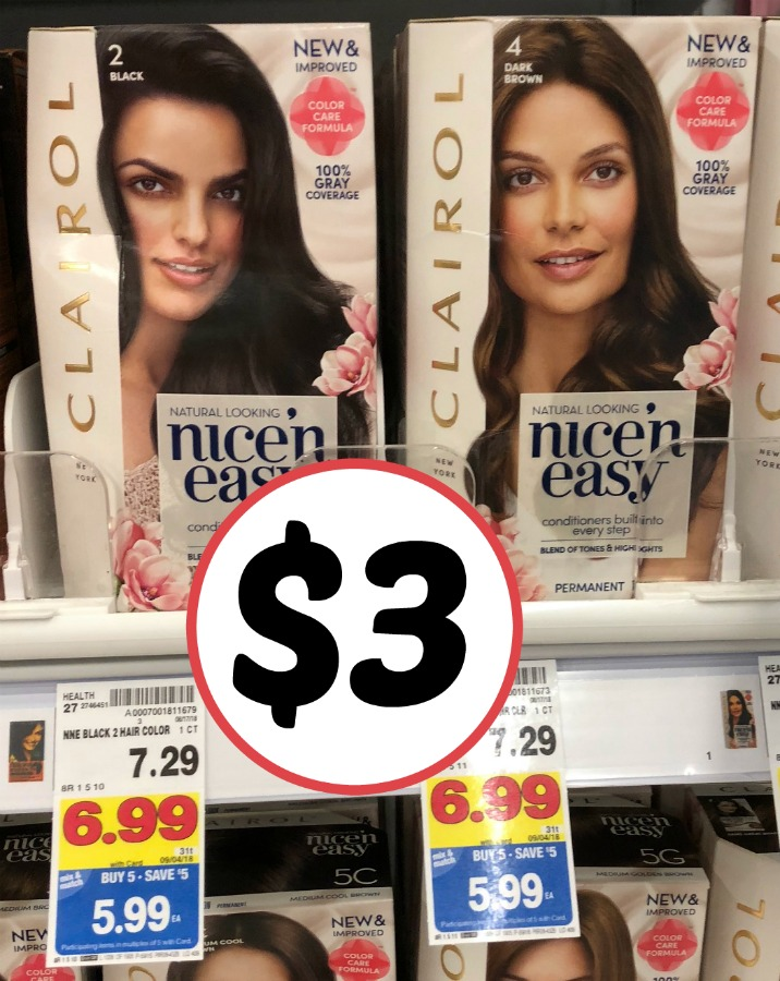 New Clairol Hair Color Coupon Boxes As Low As 3 In The Mega Sale
