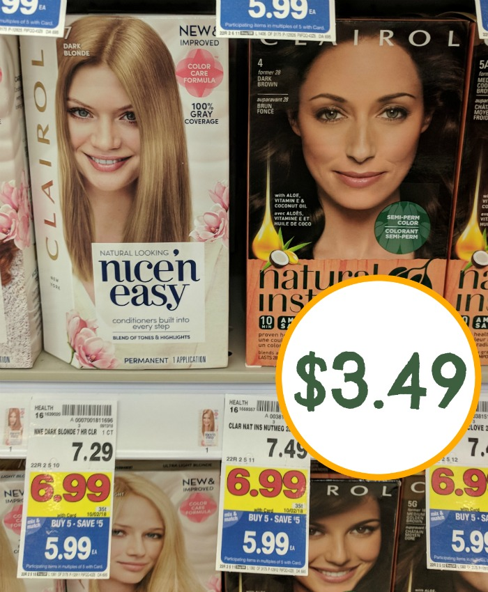 Clairol Hair Color Coupons I Heart Kroger