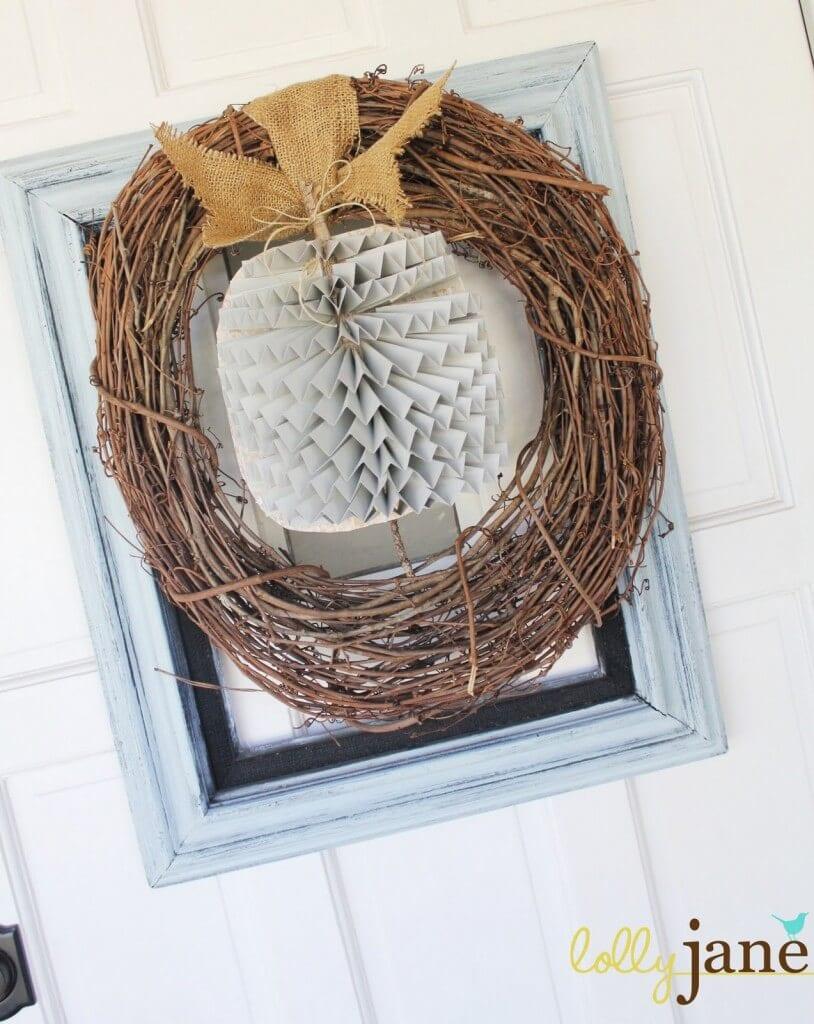 25 GORGEOUS DIY Handmade Fall Wreaths at the36thavenue.com