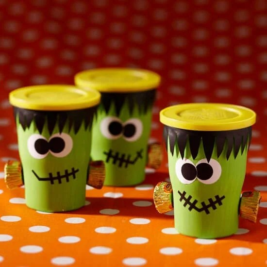 Halloween Trick Or Treat Bags Craft