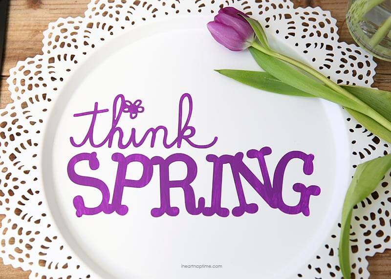 Diy Spring Art I Heart Nap Time