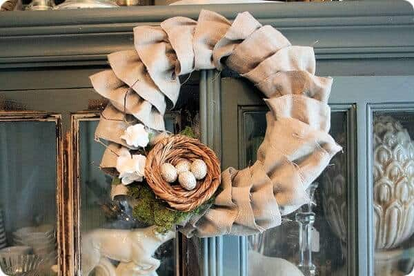 Welcome Spring: 17 Amazing DIY Wreath Ideas