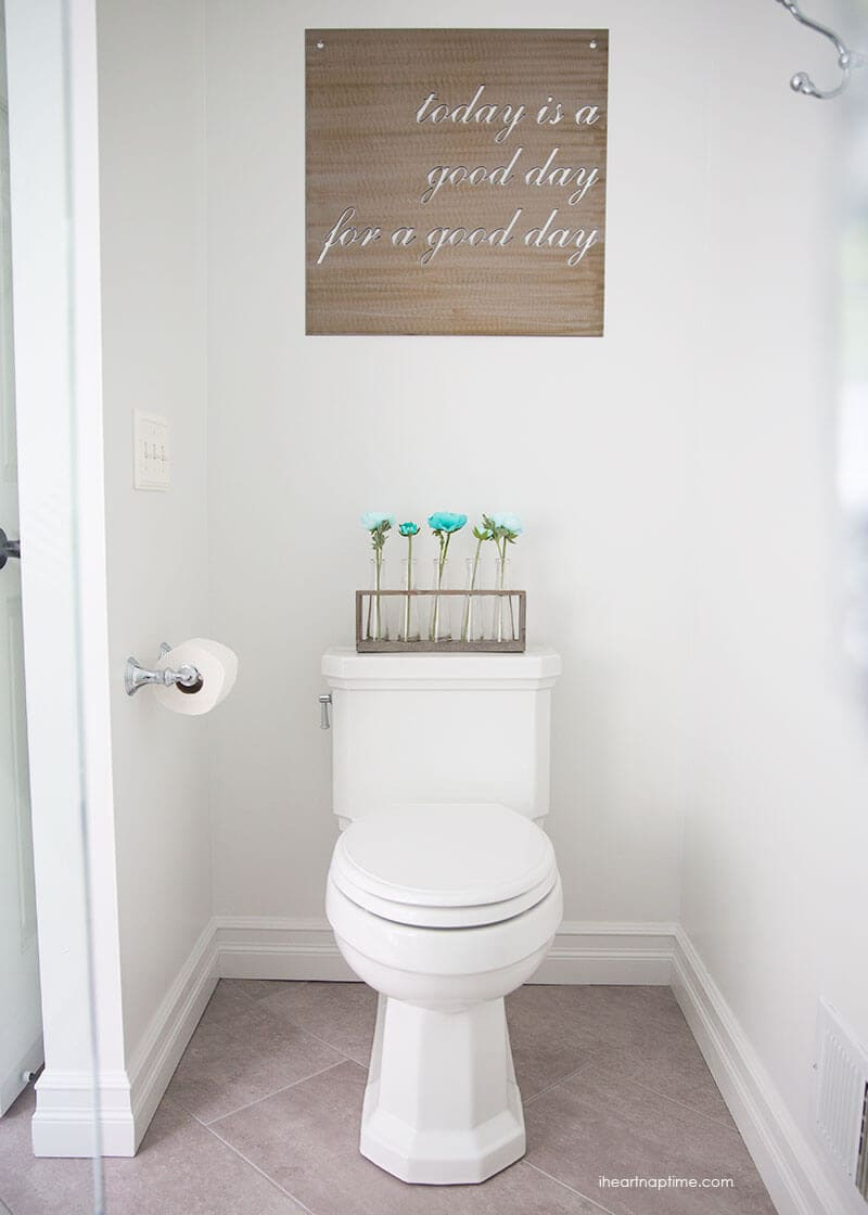 bathroom makeover - i heart nap time