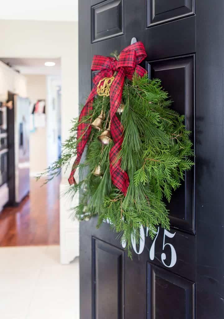 Evergreen Holiday Door Swag I Heart Nap Time
