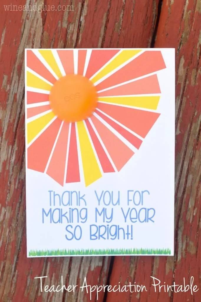 15 Easy And Cute DIY Teacher Appreciation Gift Ideas