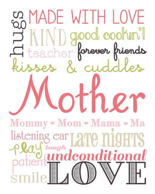 25 Free Mothers Day Printables I Heart Nap Time