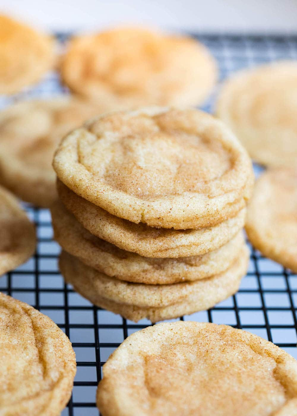 Super Soft Snickerdoodle Cookie Recipe I Heart Naptime