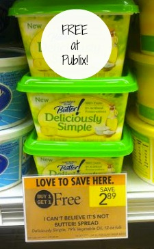ICBNB Free Or Cheap I Cant Believe Its Not Butter At Publix