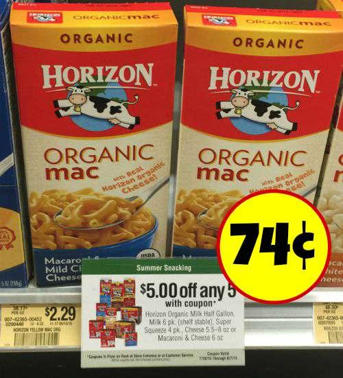 new horizon milk coupon