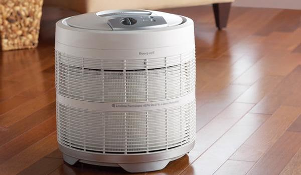 white home air purifier