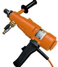 An electric drill
