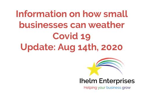 Ihelm Enterprises Covid 19 Update Aug 14 2020