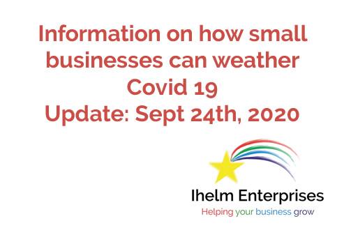 Ihelm Enterprises Covid 19 Update Sept 24th