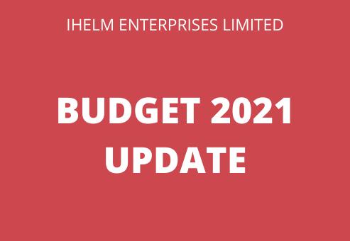 Budget 2021 Update
