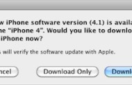 Download IOS 4.1: iPhone 3GS, 3G and iPod touch 2G, 3G, 4G