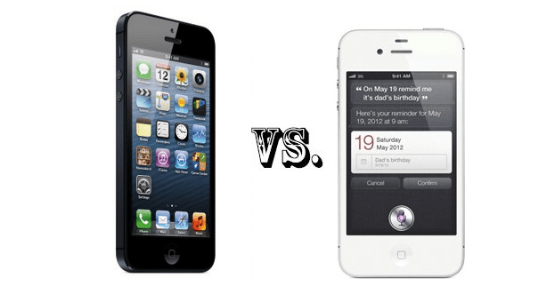 iPhone5-vs.-iPhone4S