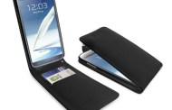 Gorgeous Leather-based Flip Case for Samsung Galaxy Word -2 Black