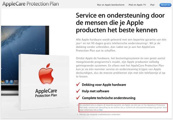 Belgium-apple-care