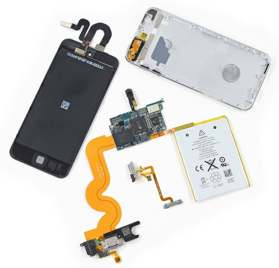 ifixit  iPod touch 5th generation
