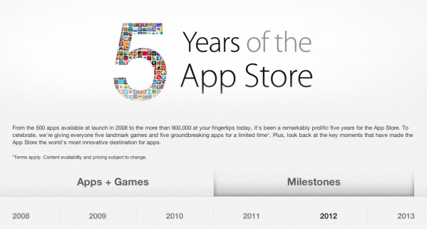 iTunes-5-Years-App-Store