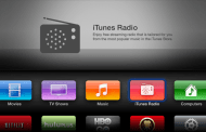 Apple TV 6.zero replace brings iTunes Radio, cloud AirPlay, sync podcast
