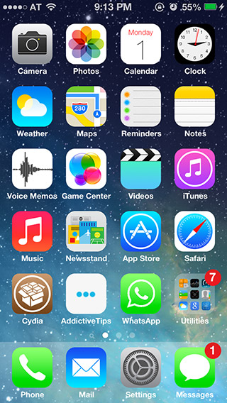 iOS-7-SpringBoard-Dock-and-icons-theme