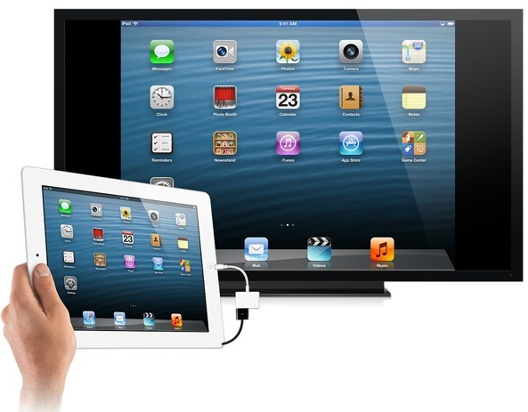 Lightning-to-Digital-AV-iPad-mini-hooked-up-to-TV