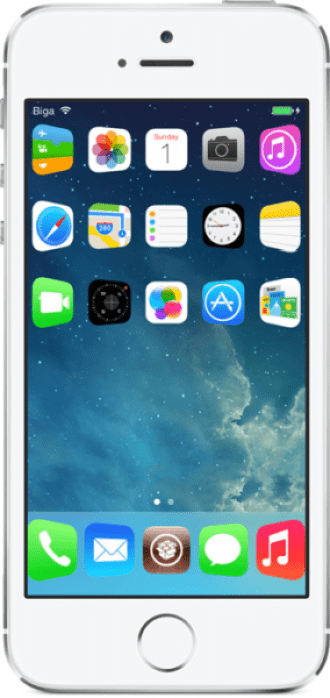 Springtomize-3 tweak for iOS 7