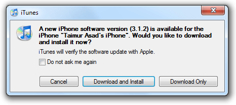 iPhone OS Firmware 3.1.2